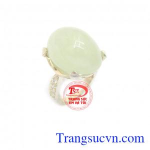 Nhẫn nữ bạc tinh tế