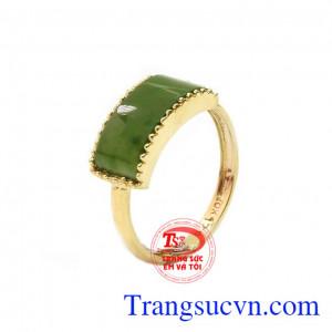 Nhẫn cẩm thạch đáng yêu
