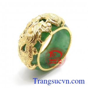 Nhẫn Ngọc Rồng Vàng Tài Lộc