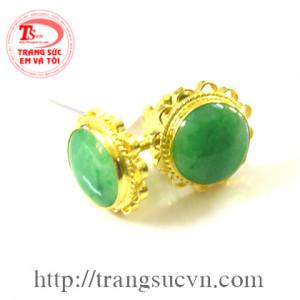 Bông tai ngọc jadeite