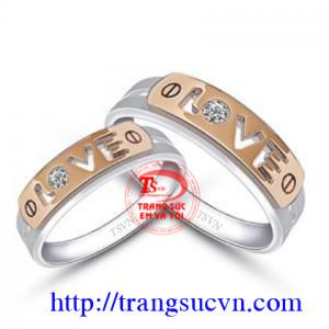 Nhẫn cưới love