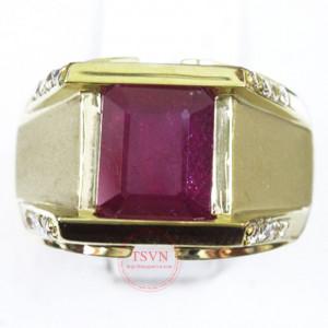 Nhẫn ruby (nam)