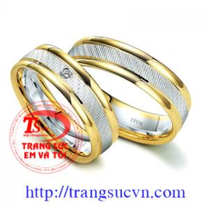 Nhẫn cưới to bản