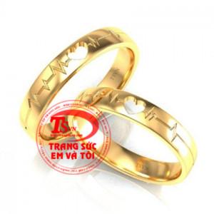 Nhẫn cưới nhịp tim