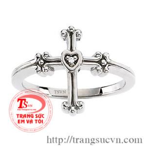 Nhẫn trắng