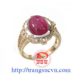 Nhẫn ruby nữ đẹp