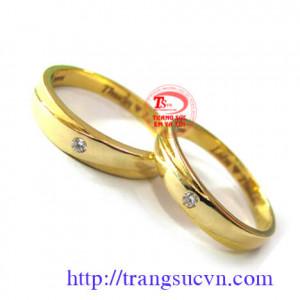 Cặp nhẫn cưới LT