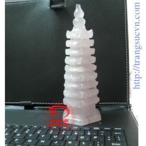 Thạch Anh Hồng-Tháp Văn Xương 17cm