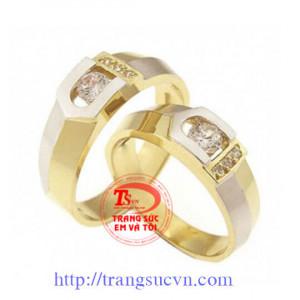 Nhẫn cưới kim cương đẹp