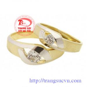 Kim cương nhẫn cưới