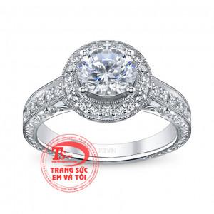 Nhẫn kim cương sáng đẹp