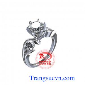 Nhẫn nữ đính hôn đẹp