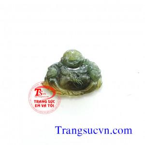 Phật di lặc sapphire vàng