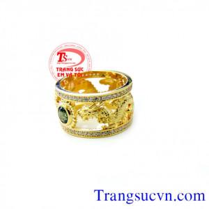 Nhẫn rồng vàng đẹp tuyệt