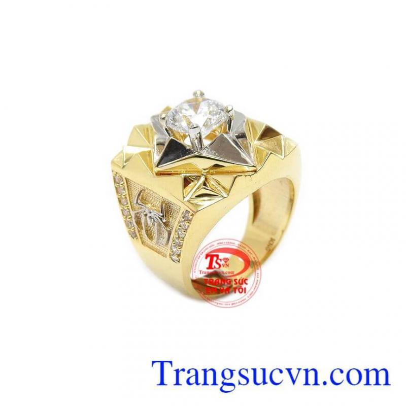Nhẫn nam sang trọng vàng 10k