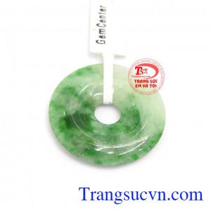 Mặt dây ngọc cẩm thạch jadeite
