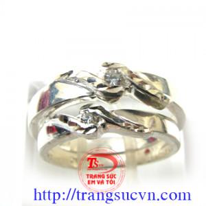 Cặp nhẫn đôi