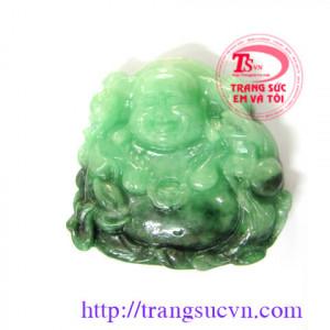 Tượng Phật Di lặc ngọc Jadeite