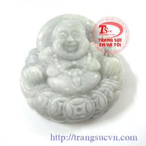 Phật Trắng Ngọc Cẩm Thạch