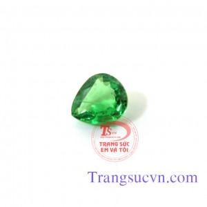 Mặt đá Garnet xanh