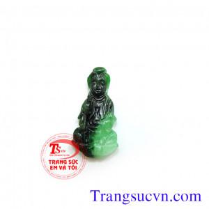 Phật cẩm thạch màu xanh