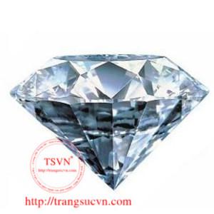 Kim cương tự nhiên màu F