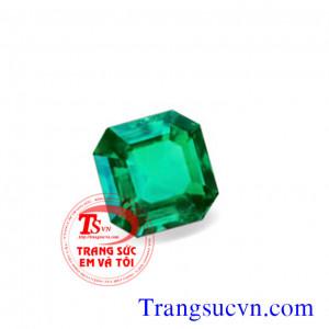Ngọc lục bảo Emerald vuông