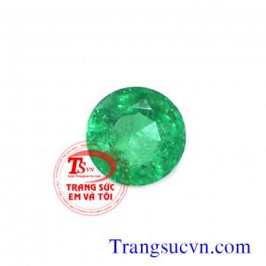 Emerald tròn facet