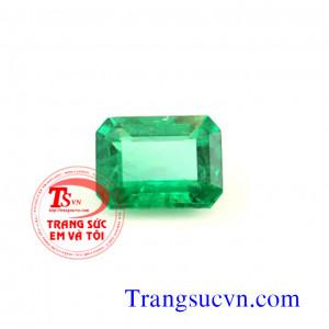 Emerald chữ nhật có kiểm định