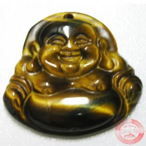 Phật di lặc đá mắt hổ