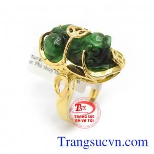 Nhẫn vàng nữ Tỳ Hưu