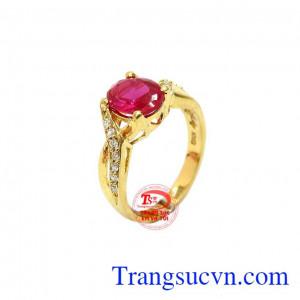 Nhẫn nữ vàng 10k kiêu sa