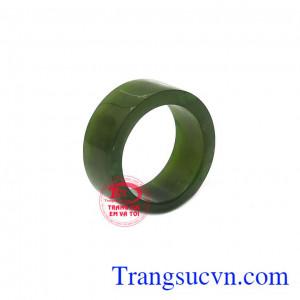 Nhẫn cẩm thạch bản vuông size lớn