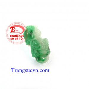 Cẩm thạch thiên nhiên tỳ hưu jadeite