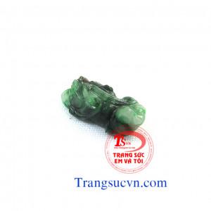 Tỳ hưu ngọc cẩm thạch Jadeite