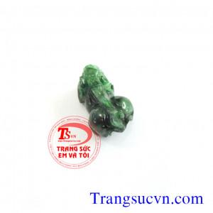 Tỳ hưu đá xanh lá