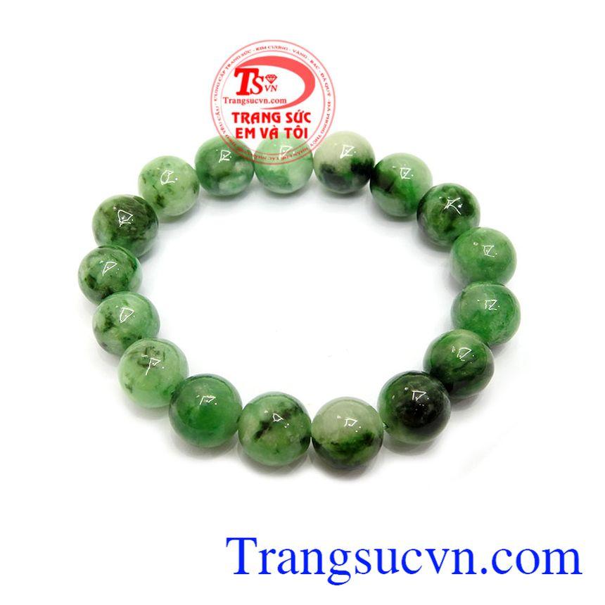 Chuỗi ngọc jadeite tài lộc mang lại may mắn, sức khỏe cho người đeo