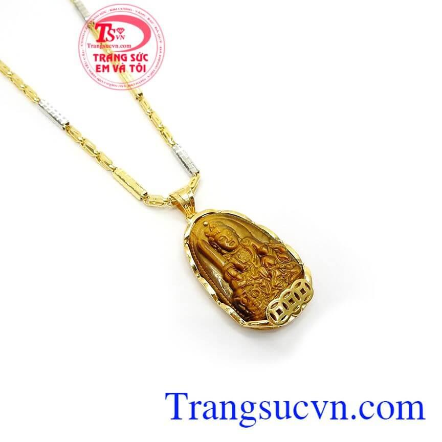 Phật Bản Mệnh Tuổi Mão Bọc Vàng
