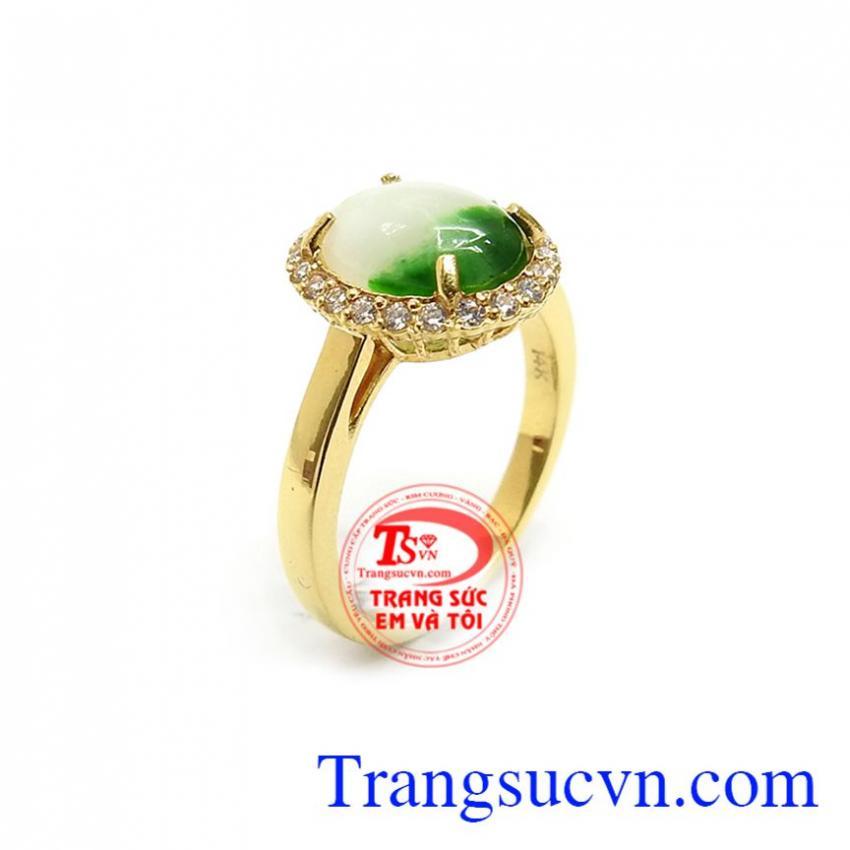 Nhẫn Ngọc Cẩm Thạch An Nhiên