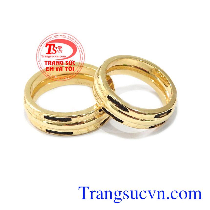 Nhẫn cưới vàng son sắt