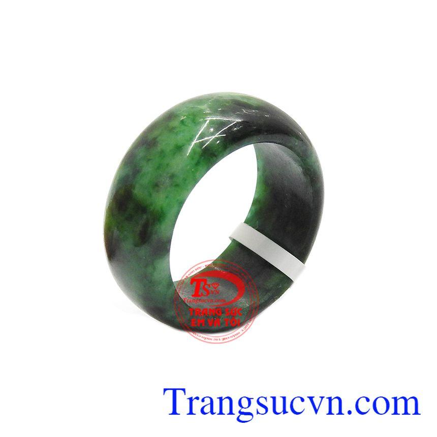 Nhẫn cẩm thạch thiên nhiên phát tài