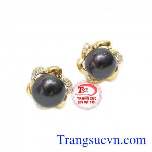 Ngọc trai đen biểu tượng cho sự quyến rũ, quý phái
