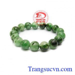 Chuỗi ngọc jadeite tài lộc là sản phẩm đẹp, món quà ý nghĩa dành tặng mẹ