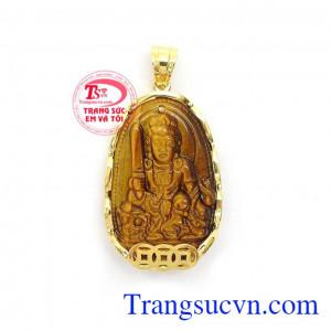 Phật Bản Mệnh Tuổi Mão Bọc Vàng là biểu tượng của sự thông minh, trí tuệ sáng suốt