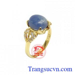 Nhẫn Nữ Sapphire Thịnh Vượng