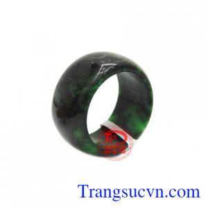 Nhẫn cẩm thạch thiên nhiên bình an