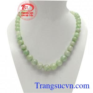 Chuỗi ngọc jadeite đại lộc