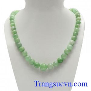 Chuỗi cổ ngọc jadeite phú quý
