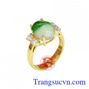 Nhẫn nữ cẩm thạch quý phái