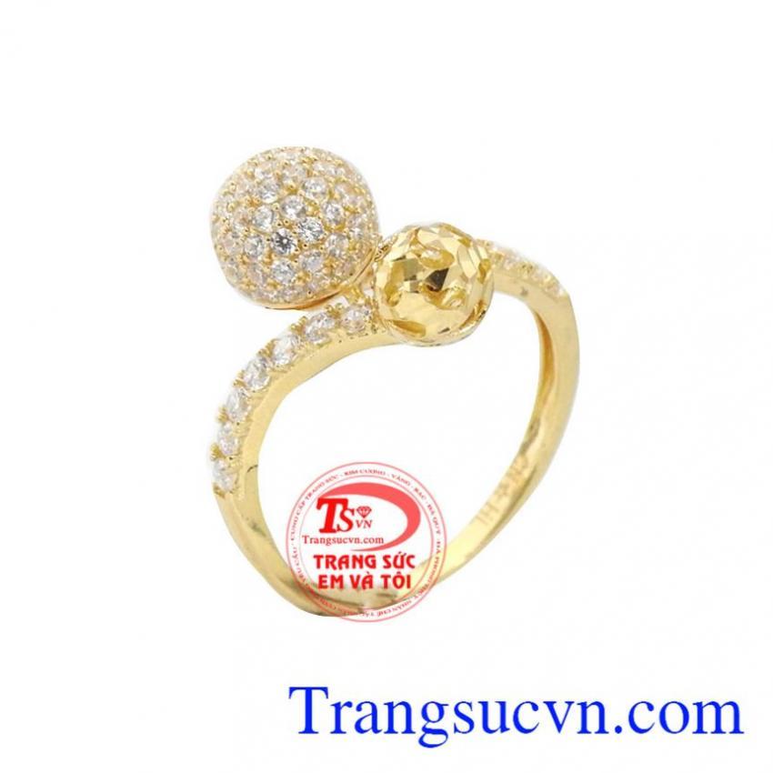 Nhẫn vàng xinh xắn 10k